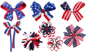 4th of july hair bow and headband hair accessories roundup