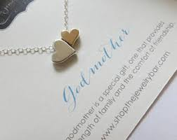 godmother necklace godmother necklace etsy