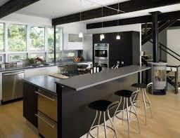 ilots de cuisine cuisine moderne avec ilot central en image ilots newsindo co