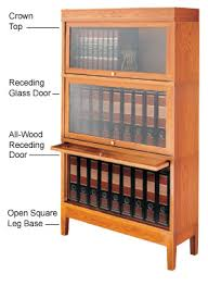 Barrister Bookcases With Glass Doors Personalized Barrister Bookcases