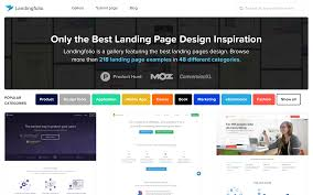 best landing page design inspiration with 342 examples