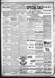 the topeka daily capital from topeka kansas on may 22 1884
