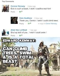 Funny Assassins Creed Memes - edward kenway for the win gaming pinterest gaming