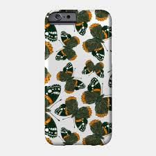 admiral butterfly pattern admiral phone teepublic