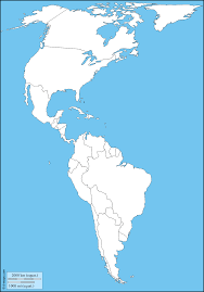 North And South America Map by 17 Blank Maps Of The Us And Other Countries World Regional Latin