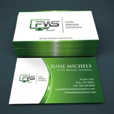 Business Card Design For It Professional Modern Colorful Business Card Design For Susan Michels By