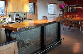 Slab Wood Bar Top Our Work