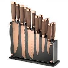 skandia forte 13 piece kitchen knives u0026 block set william
