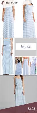 light blue and white striped maxi dress splendid blue and white striped maxi dress striped maxi dresses