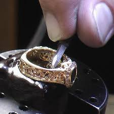how to engrave a ring custom jewelry process engraving