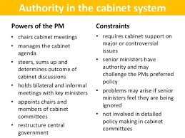 The Cabinet In Government The Role Of The Prime Minister