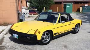 porsche 914 yellow 1975 porsche 914 f48 kissimmee 2017