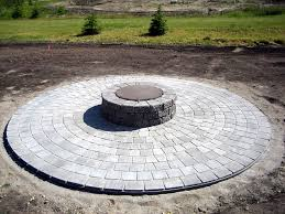 Brick Patio Pavers by Round Patio Pavers For Fire Pit U2013 Orchidlagoon Com