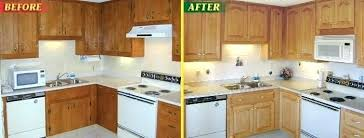is it worth it to reface kitchen cabinets kitchen cabinets resurface kitchen cabinet refacing before and after