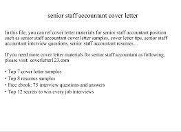 Sample Resume For Staff Accountant by Free Download Staff Accountant Cover Letter From Here And Get