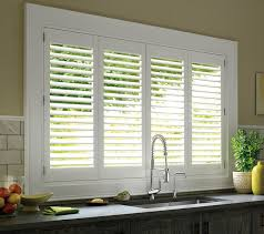 Kitchen Window Shutters Interior Traditional Kitchen