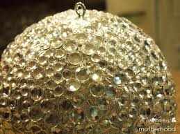 Ornament Chandelier Diy by Diy New Year U0027s Ball Makeovers And Motherhood