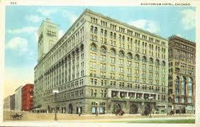 louis sullivan postcard u2013 chicago u2013 auditorium hotel u2013 louis sullivan building