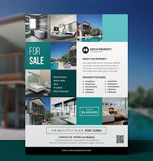 flyer property 40 professional real estate flyer templates
