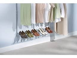 add on shoe shelf kit rubbermaid