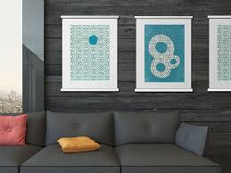 hang poster without frame stylist design hanging posters without frames home designs