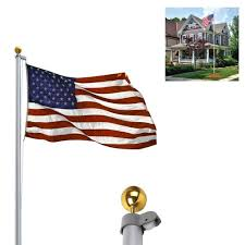 Wrought Iron Flag Pole Holder Garden Flag Holder Large Home Outdoor Decoration