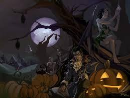 halloween spooky wallpaper halloween wallpapers wallpapersafari