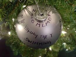 ornaments in memory of ornaments diy memory