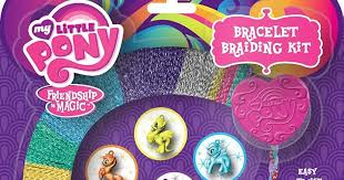bracelet braid kit images Fashion angels release mlp bracelet braiding kit mlp merch jpg