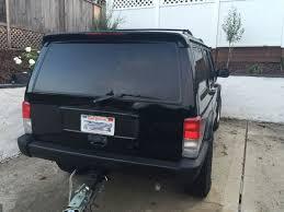 custom jeep tail light covers jeep cherokee xj custom spoiler spoilerlight type i