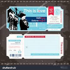 ticket invite template free free printable invitation design