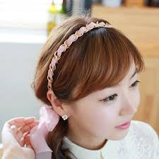 korean headband 2018 2014 new korean mix color chiffon ribbon headband korean