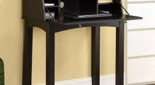 Black Computer Armoire Desk Small Wood Desk With Hutch Solid Wood Computer Armoire