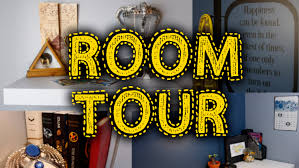 harry potter room tour youtube