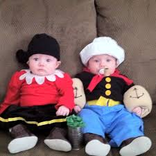 Twins Halloween Costumes Infant 25 Popeye Olive Ideas Couple