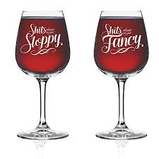 wine glass gifts vino depot novelty wine glass set of 2 couples gifts