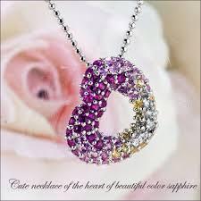 elegant heart necklace images Barbir even 0 5 ct sparkling beautiful fancy color natural jpg