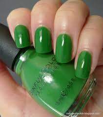 i relish nail polish sinful colors exotic green