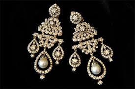 Chandelier Earrings India Indian Chandelier Earrings Musethecollective