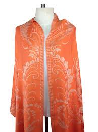 a special deal on a beautiful orange pashmina scarf