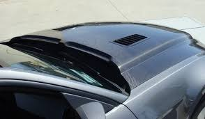 2012 Black Ford Mustang 2010 2012 Ford Mustang Gt V6 Black Mamba Ii Carbon Fiber Hood
