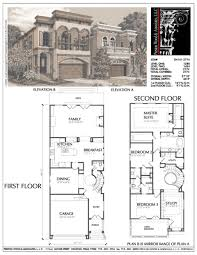 narrow lot luxury house plans house plans narrow lot lakefront with rear entry garage modern