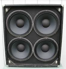 bass speakers in a guitar cab talkbass com