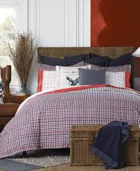 Twin Plaid Comforter Tommy Hilfiger Timeless Plaid Bedding Collection Bedding