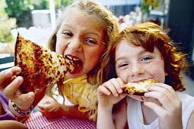 roughly one third of american kids eat fast food or pizza daily
