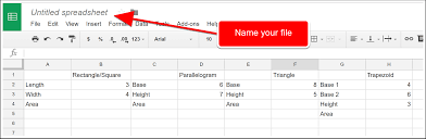 Spreadsheet Development How To Make An Area Counter In Google Spreadsheets Daily Genius