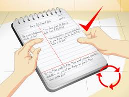 how to take cornell notes with pictures wikihow