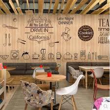 cute coffee icon large mural wallpaper cafe dessert tea shop