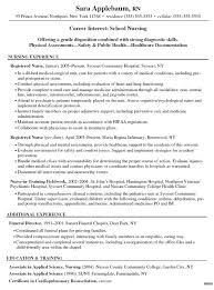 Icu Nurse Resume Example by Nursing Resumes Examples Ecordura Com