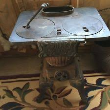 Pot Belly Stove With Glass Door by Antique Pot Belly Stove Ebay